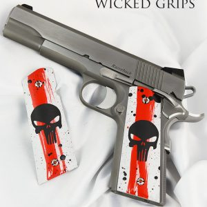 "1911 GRIPS ARTIST SERIES ""TRASH POLKA"" ONE OF A KIND"