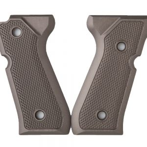 ALUMAGRIPS BERETTA 92FS TACTICAL CHECKERED PISTOL GRIPS OG