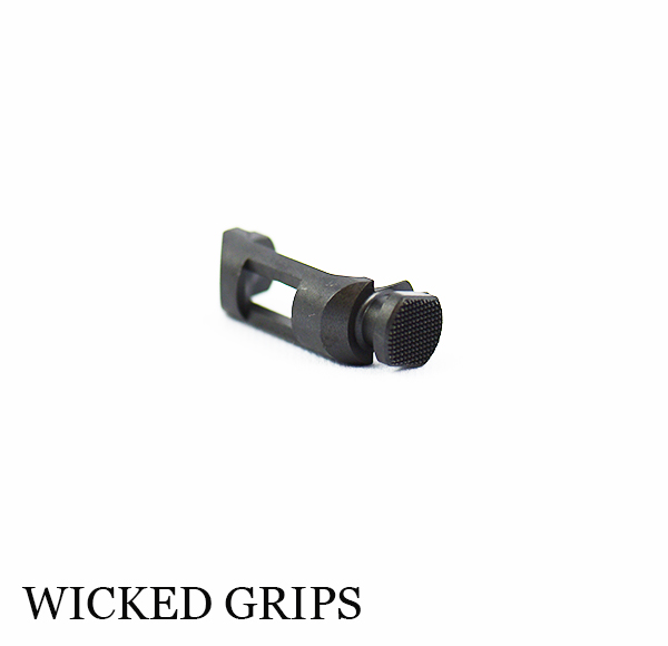 BERETTA 92 EXTENDED MAG RELEASE WICKED GRIPS