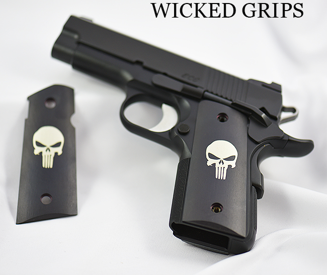 1911 OFFICERS THIN GRIPS PUNISHER