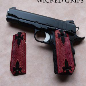 Wood Bobtail 1911 Grips - Wicked Grips | Custom Handgun Pistol Grips