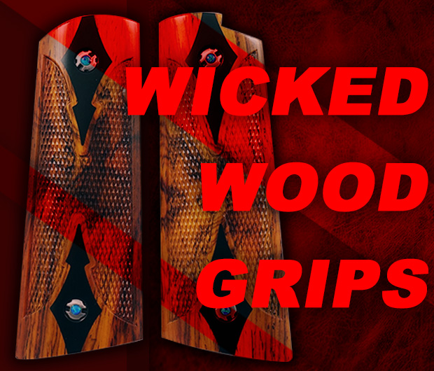 Wicked Grips | Custom Handgun Pistol Grips
