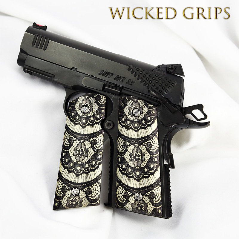 custom-1911-officers-grips-black-lace