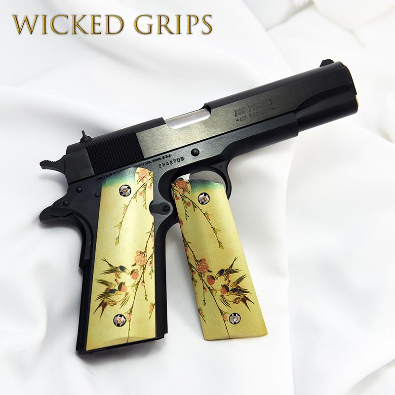 custom-1911-grips-japanese-birds-ver-1