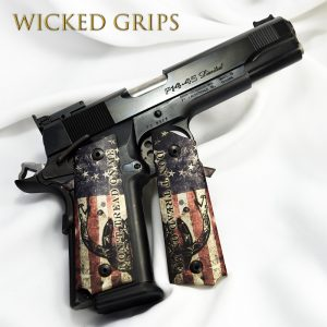 Para Ordnance P14 Double Stack Grips - Wicked Grips | Custom