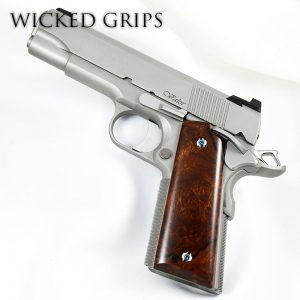 Wood 1911 Fullsize Grips