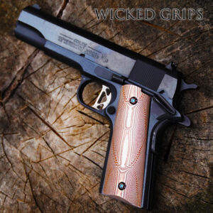 1911 GRIPS EXOTICS / DAMASCUS