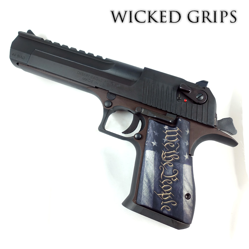 DESERT EAGLE GRIPS WE THE PEOPLE VER 5
