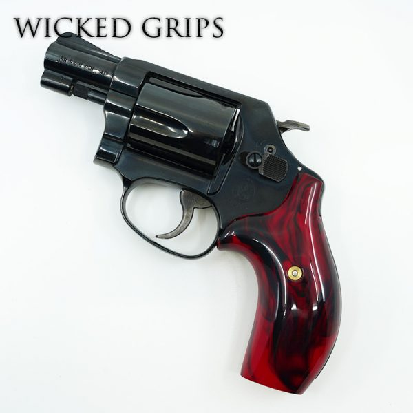 CUSTOM SMITH & WESSON J FRAME GRIPS BLOODY BASIN JASPER