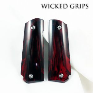 wicked-grips-sig-1911-roundbutt-replicated-red-jasper