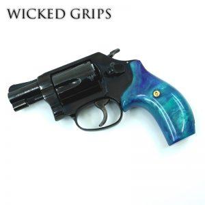 SMITH & WESSON J FRAME REVOLVER GUN GRIPS AURORA