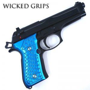 Beretta 92FS Grips - Wicked Grips | Custom Handgun Pistol Grips