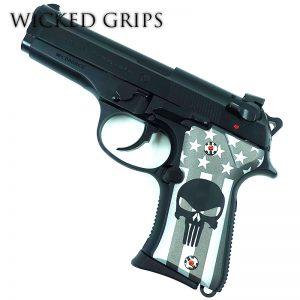 Beretta 92 Compact Cerakote Series American Punisher