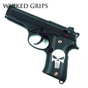 Beretta 92 Compact Cerakote Series Punisher Skull
