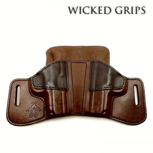 OFFICER MODEL 1911 COMPACT DOUBLE PISTOL HOLSTER TWO TONE