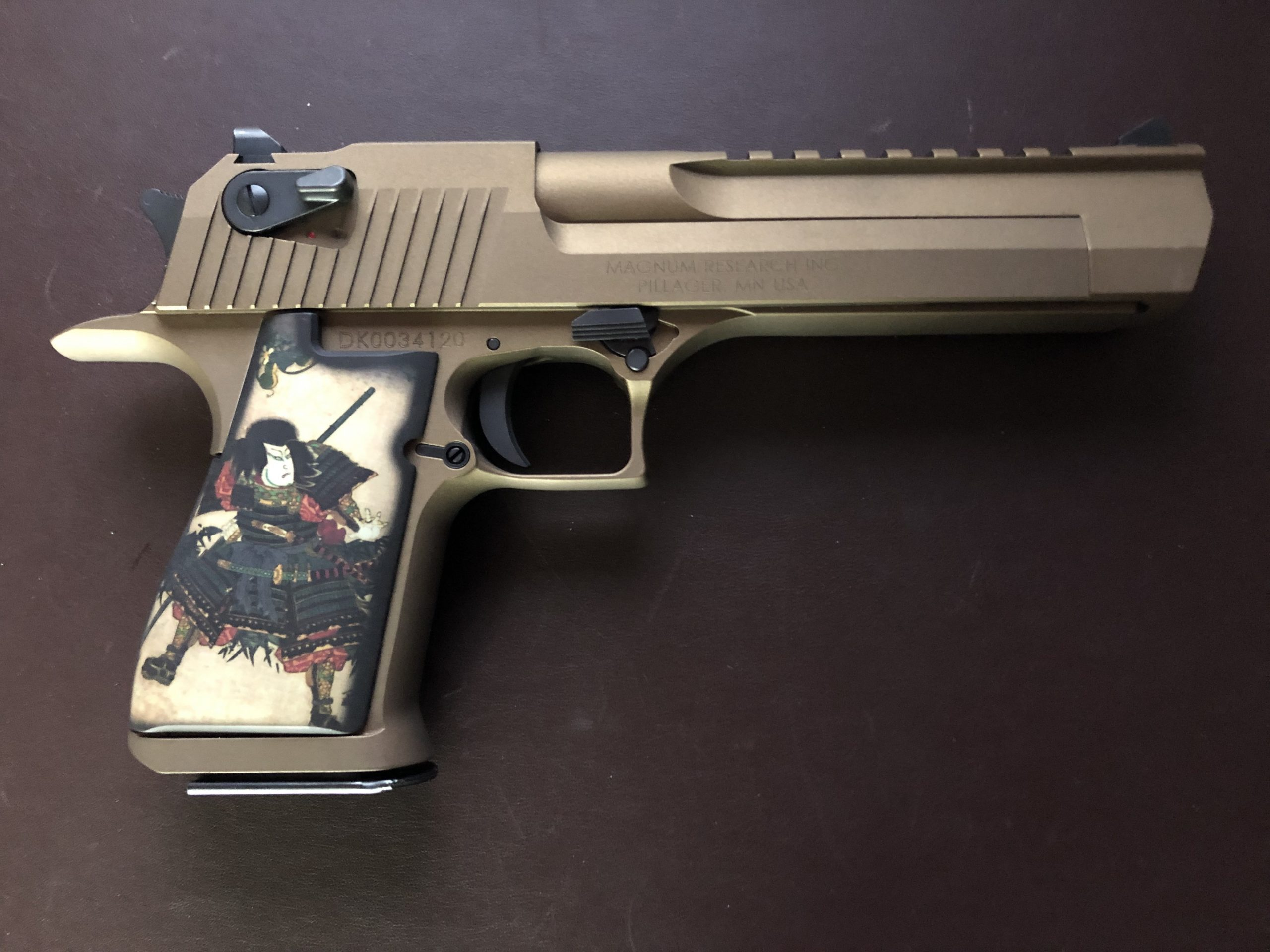 "Mark D. Desert Eagle ""Samurai"""