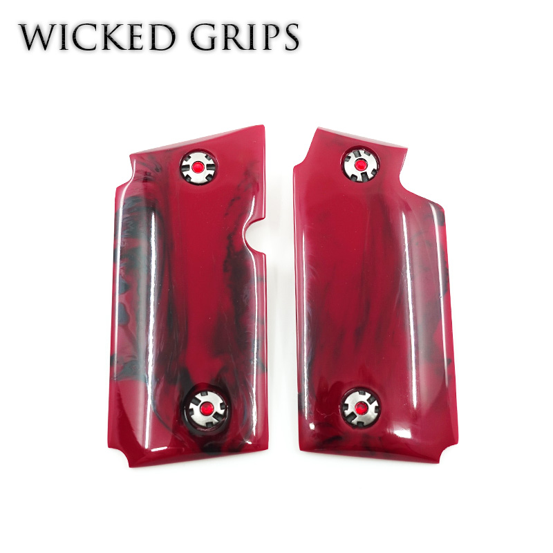 SIG SAUER P238 PISTOL GRIPS REPLICATED BLOODY RED JASPER