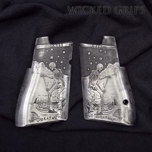 CUSTOM DESERT EAGLE PISTOL GRIPS LIMITED SERIES DEATH TAROT
