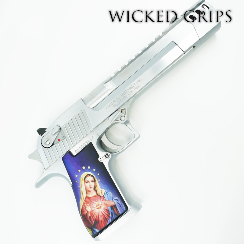 DESERT EAGLE CUSTOM PISTOL GRIPS MARY