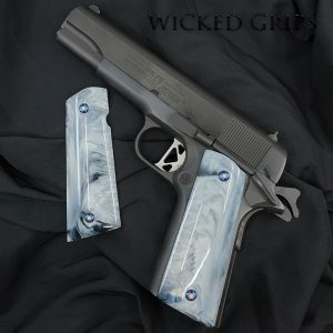 1911 PISTOL GRIPS CUSTOM REPLICATED BUFFALO HORN