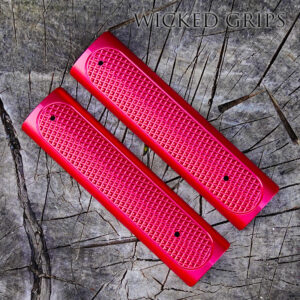 CUSTOM AR-15 PICATINNY RAIL COVER GRATER RED