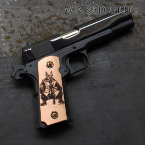 1911 DEER LEATHER INDEN-YA SAMURAI GRIPS by RISE